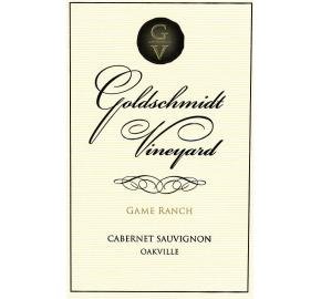 Goldschmidt Vineyard - Cabernet Sauvignon Oakville - Game Ranch