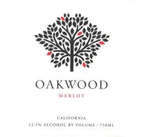 Oakwood - Merlot label