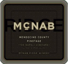 McNab Ridge - Pinotage label