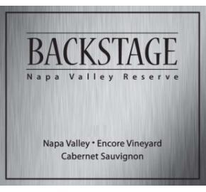 Backstage - Encore Vineyard - Cabernet Sauvignon Reserve