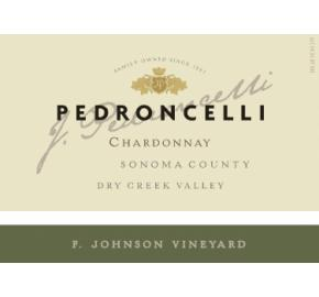 Pedroncelli - Chardonnay - F Johnson Vineyard