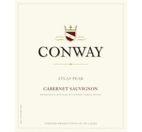 CONWAY FAMILY- ATLAS PEAK-CABERNET SAUVIGNON