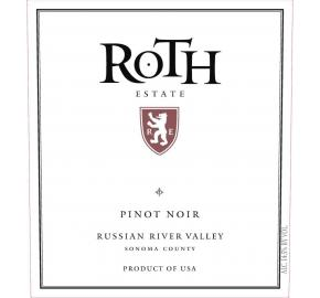 Roth Estate - Pinot Noir - Russian River Valley