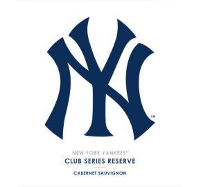 MLB Club Series - Yankees Cabernet Sauvignon Reserve label
