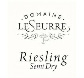 Domaine Le Seurre- Semi Dry Riesling