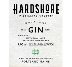 Hardshore Distilling Company - Original Gin
