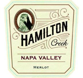 Hamilton Creek - Merlot label