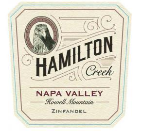 Hamilton Creek - Zinfandel label