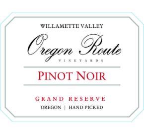 Oregon Route Vineyards - Pinot Noir - Grand Reserve
