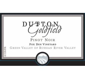Dutton Goldfield - Pinot Noir - Fox Den Vineyard