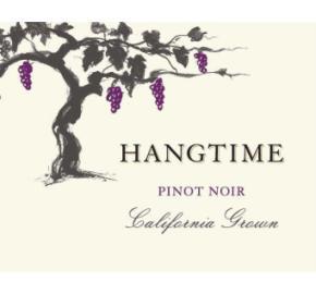 Hangtime - Pinot Noir label
