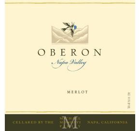 Oberon - Merlot label