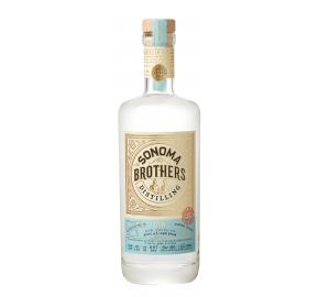 Sonoma Brothers Gin label