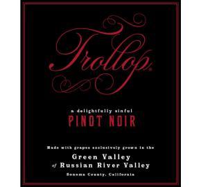 Trollop - Pinot Noir label