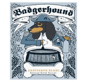 Badger Hound - Sauvignon Blanc  label