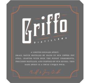 Griffo - Barrel Aged Gin label