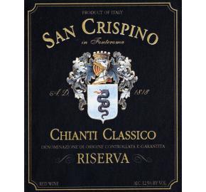 San Crispino - Chianti Classico Riserva label