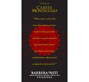 Casata Monticello - Barbera D'Asti Superiore