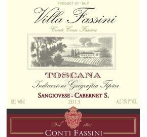 Villa Fassini - Sangiovese Cabernet label
