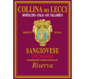 Collina Dei Lecci - Sangiovese di Romagna - Riserva label