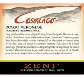 Zeni - Costalago Rosso Veronese