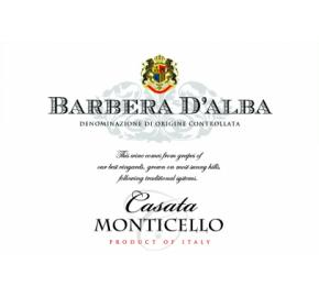 Casata Monticello - Barbera D'Alba label