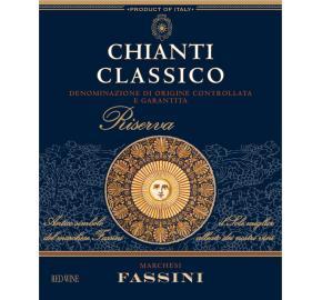 Marchesi Fassini - Chianti Classico Riserva