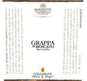Mazzetti d'Altavilla - Grappa di Moscato - Aged