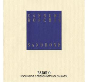 Sandrone - Cannubi Boschis
