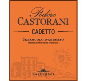 Podere Castorani - Cerasuolo d'Abruzzo Cadetto Rose label