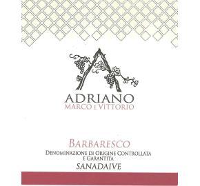 Adriano Marco E Vittorio - Barbaresco Sanadaive