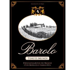 Tenute Mundi - Barolo label
