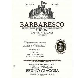 Bruno Giacosa - Barbaresco - Albesani Santo Stefano