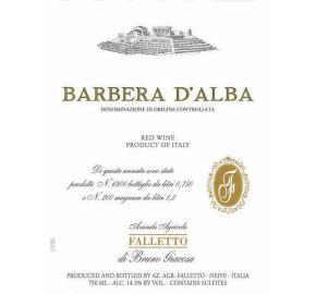 Bruno Giacosa - Barbera D'Alba Falletto