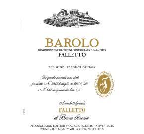 Bruno Giacosa - Barolo Falletto label