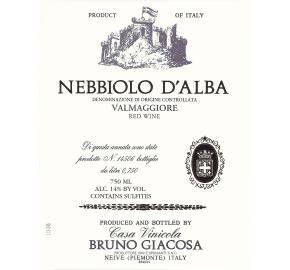 Bruno Giacosa - Nebbiolo D'alba - Valmaggiore