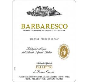 Bruno Giacosa - Barbaresco Falletto