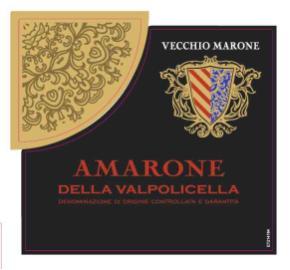 Vecchio Marone - Amarone Della Valpolicella label