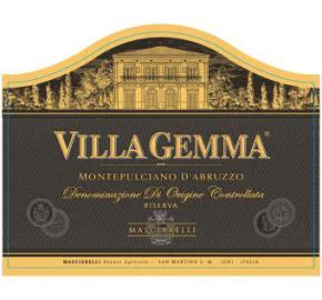 Masciarelli - Villa Gemma - Montepulciano d' Abruzzo Riserva