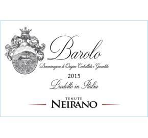 Tenute Neirano Barolo label