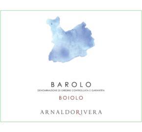 Arnaldo Rivera - Barolo Boiolo label