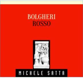 Michele Satta - Bolgheri Rosso label