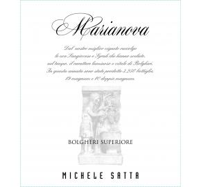 Michele Satta - Superiore Marianova label