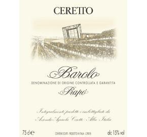 Ceretto - Barolo - Prapo