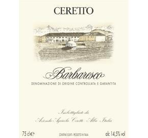 Ceretto - Barbaresco - Nebbiolo