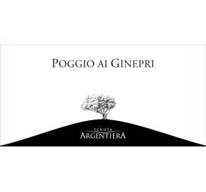 Tenuta Argentiera - Poggio ai Ginepri Rosso label