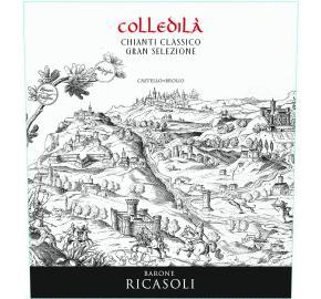 Barone Ricasoli - Colledila Chianti Classico Gran Selezione label