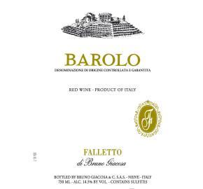 Bruno Giacosa - Barolo DOCG label