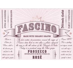 Fascino - Prosecco Rose Organic label