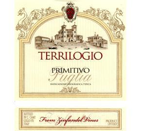 Terrilogio - Primitivo label